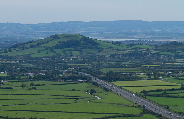M5 motorway, Somerset