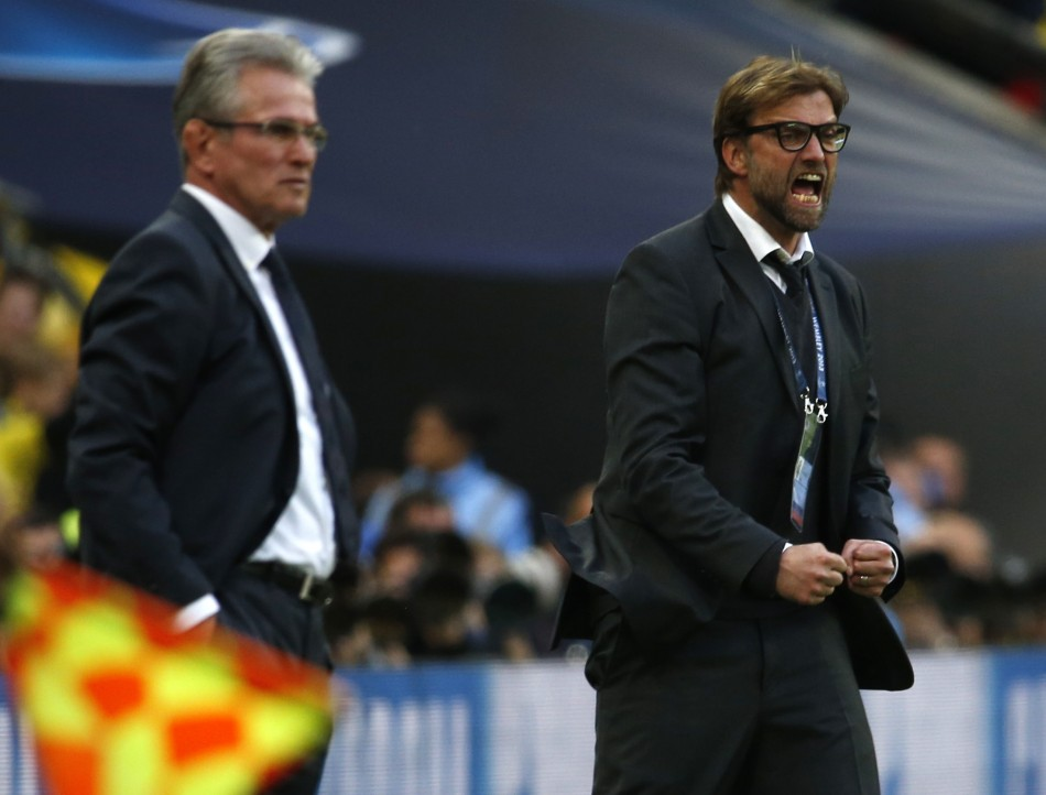Heynckes and Klopp