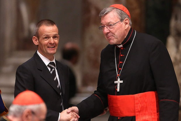 Cardinal Pell faces Victorian parliament today.