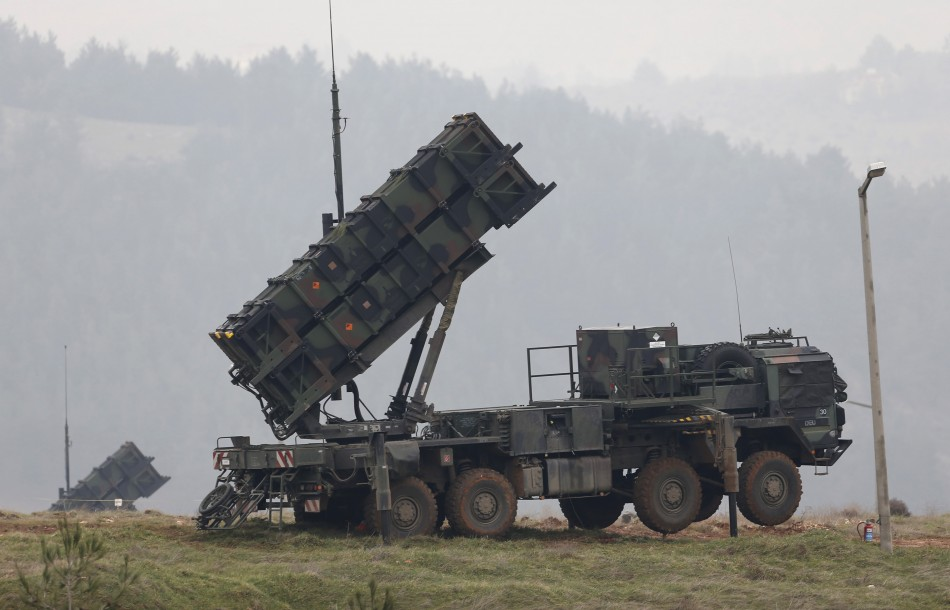 Patriot missiles to defend from Syrian conflict