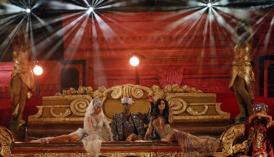 The opening ceremony of the 21st Life Ball in Vienna