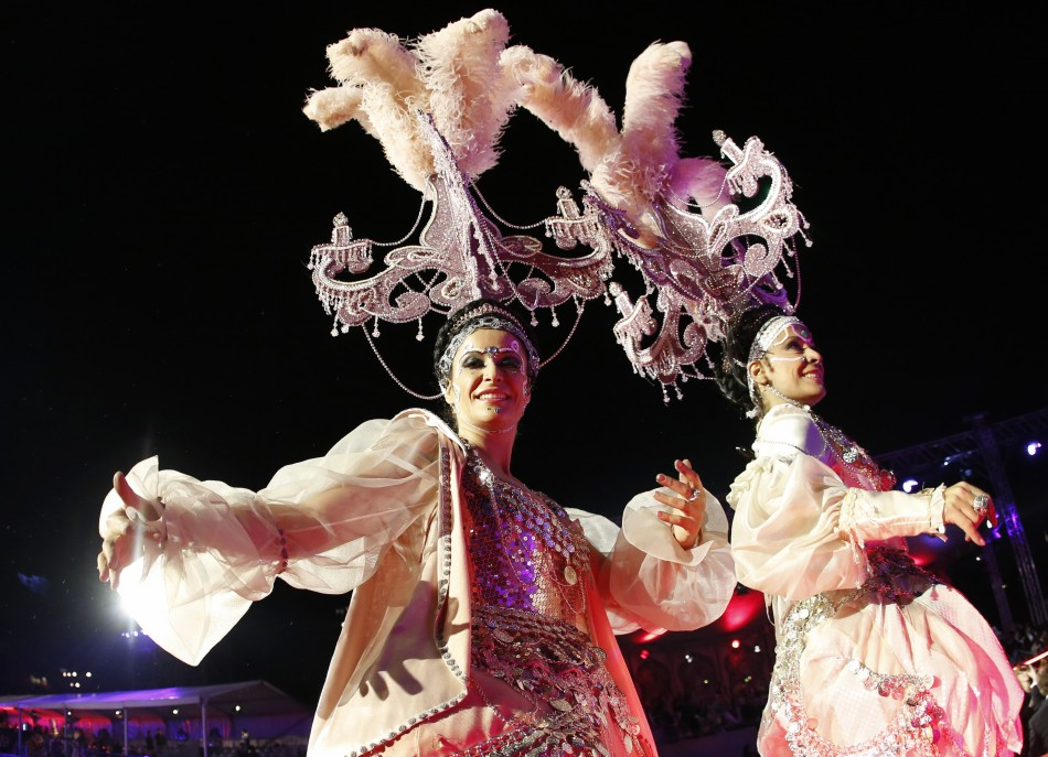The Spectacular opening ceremony of the 21st Life Ball in Vienna