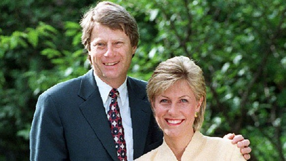 Nick Ross with Jill Dando