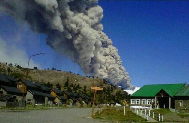 Copahue Volcano