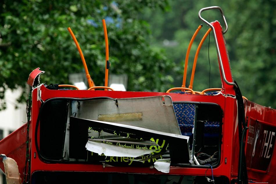 London bus bomb terror attack