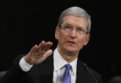 Tim Cook Talks Apple Tv, Wearable Tech and Jony Ive's iOS