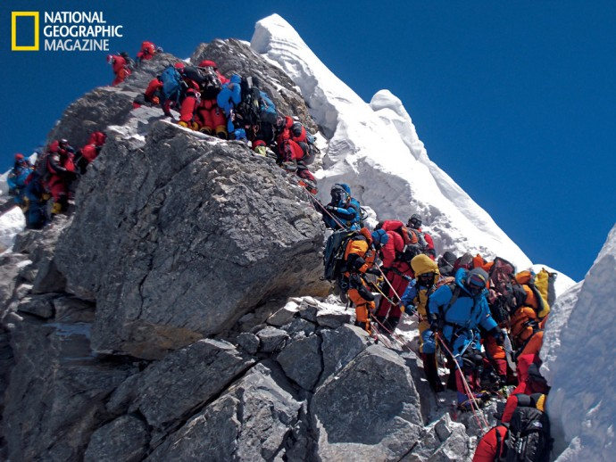 Everest's deadly Hillary Step collapses