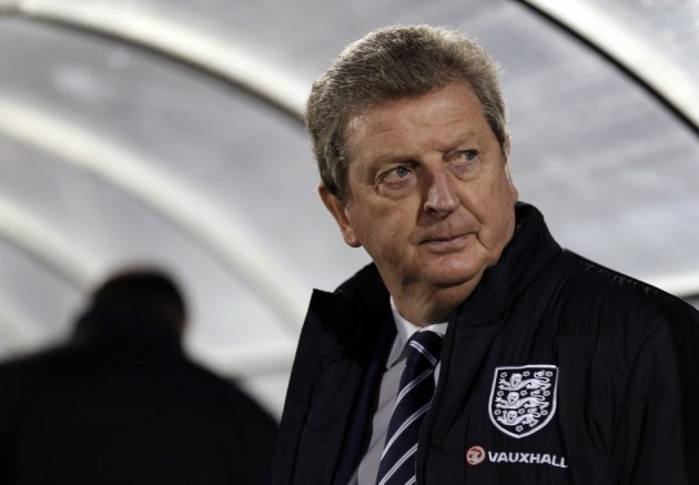 Appeal for calm: England manager Roy Hodgson