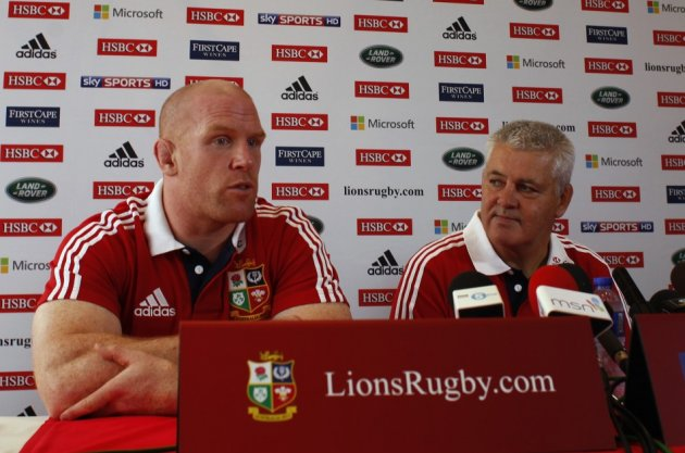 Paul O'Connell and Warren Gatland