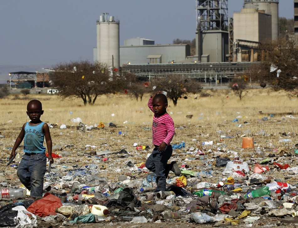 For more black people, extreme poverty in South Africa is still a way of life