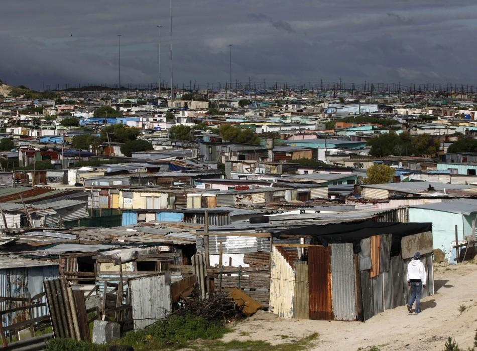Apartheid legacy: Cape Town township