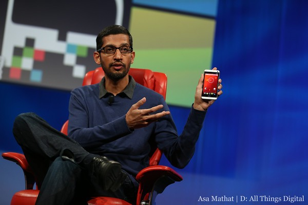 Google's Sundar Pichai HTC One Google Edition