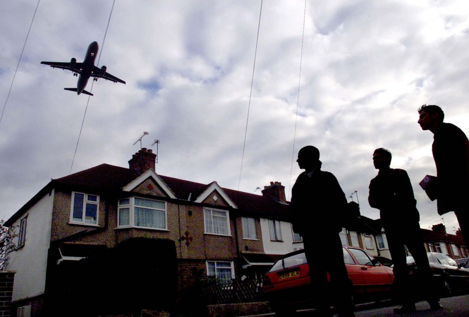 Noisy neighbour: Residents say Heathrow night flights keep them up
