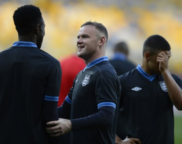 Welbeck and Rooney