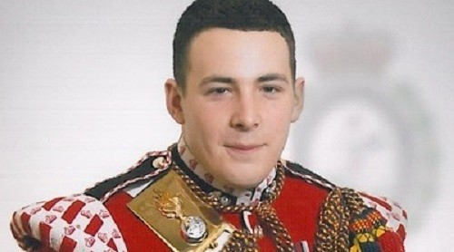Drummer Lee Rigby died after being attacked on his way back from work