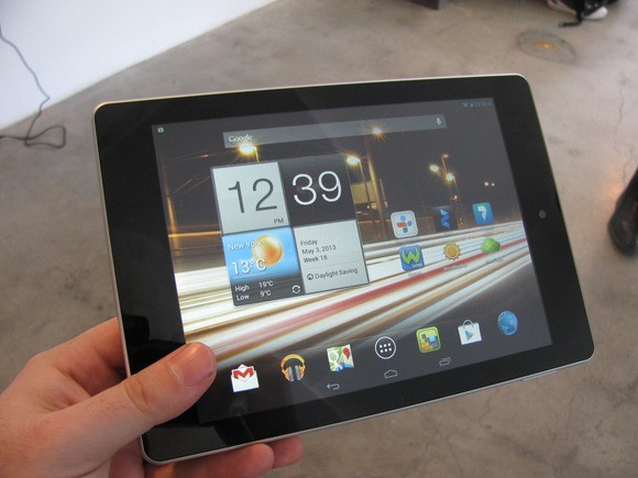 Acer Tablet running on Windows 8 (Courtesy: PC World)