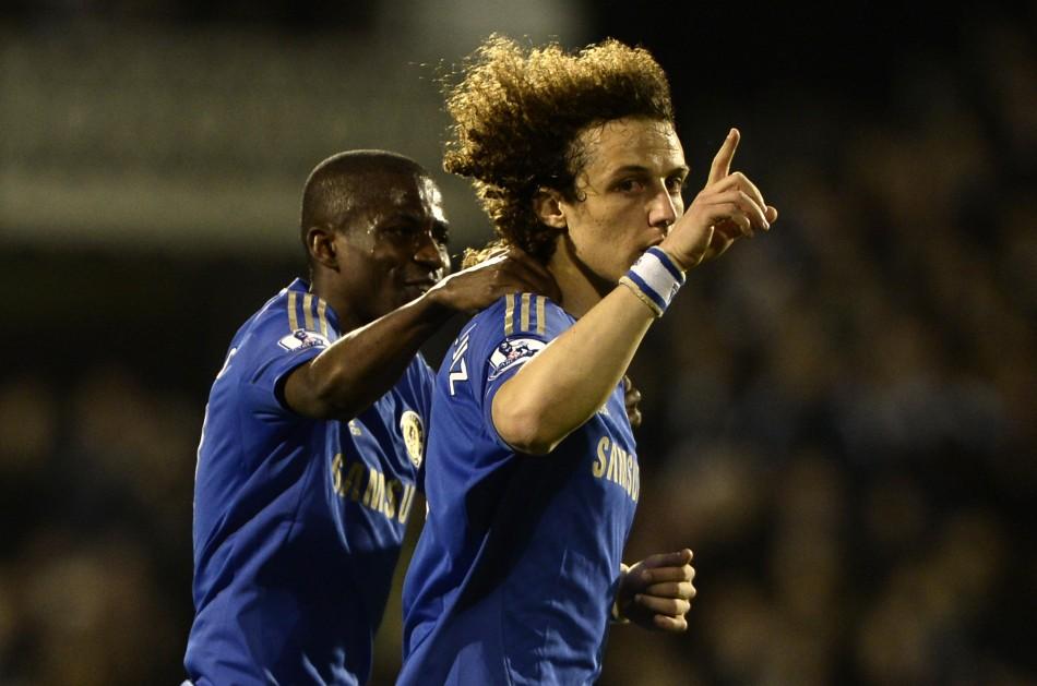 David Luiz and Ramires
