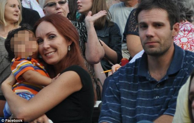 Nathaniel Richardson with wife Shannon Glass