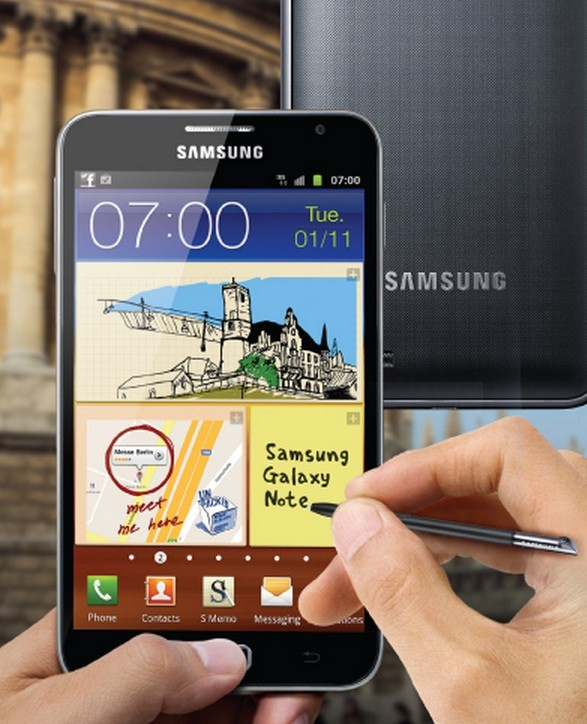 Galaxy Note GT-N7000 Receives Android 4 1 2 XXLT6 Jelly Bean
