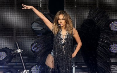 Singer Jennifer Lopez performs at The Sound of Change concert