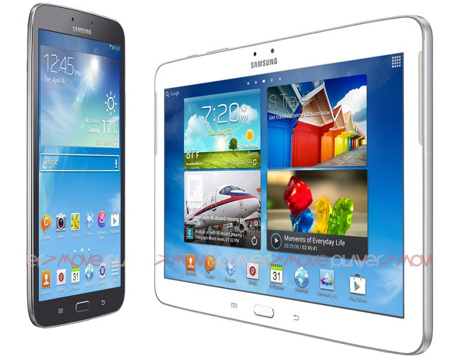 Galaxy Tab 3 8.0 and 10.1