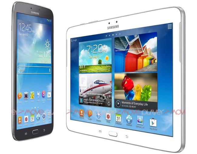 Galaxy Tab 3 8.0 and 10.1