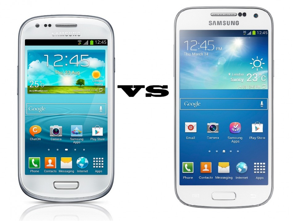Galaxy S4 Mini Vs Galaxy S3 Mini