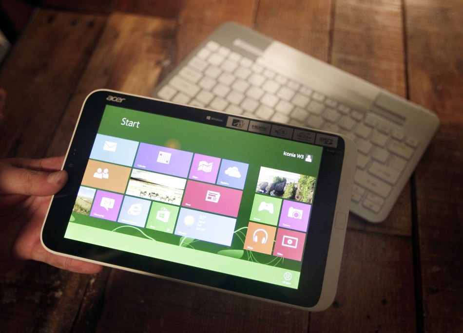 Acer Iconia W3 First Windows 8 Tablet