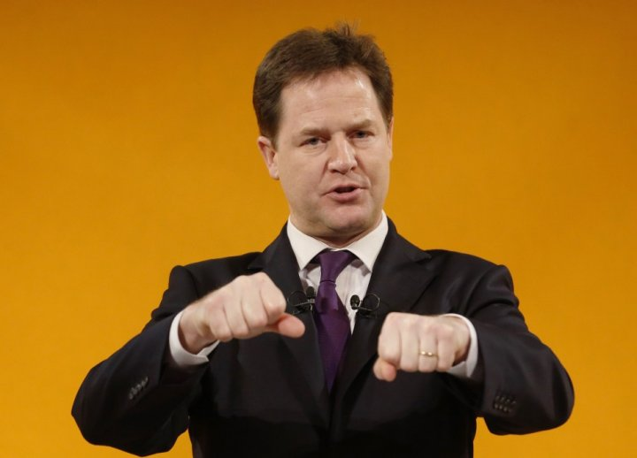 Clean up mission: Clegg wants to get tough on sleaze politicians