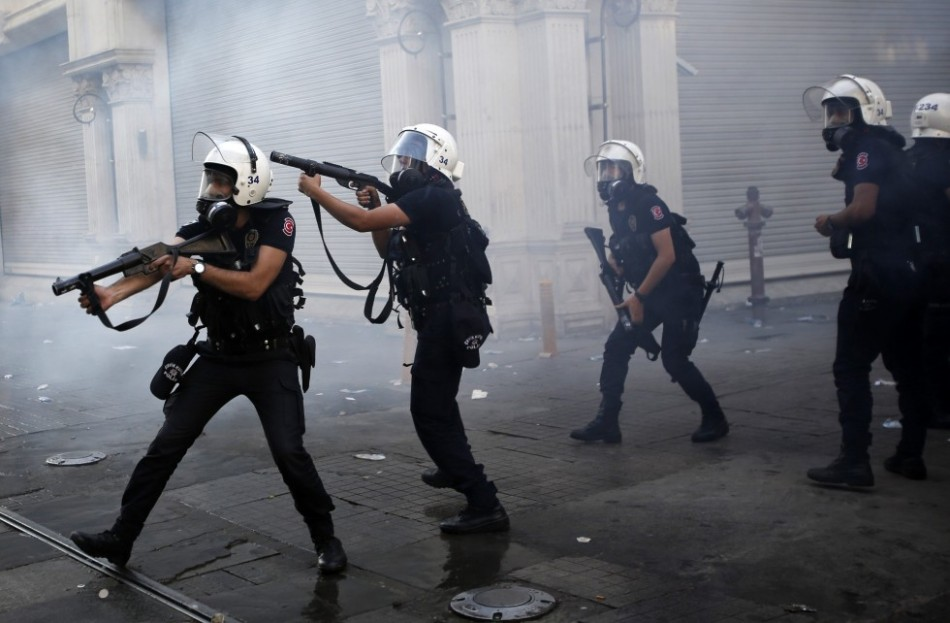 Turkey Protests Grow in Intensity