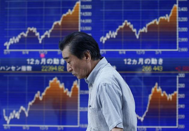 Asian markets were bearish