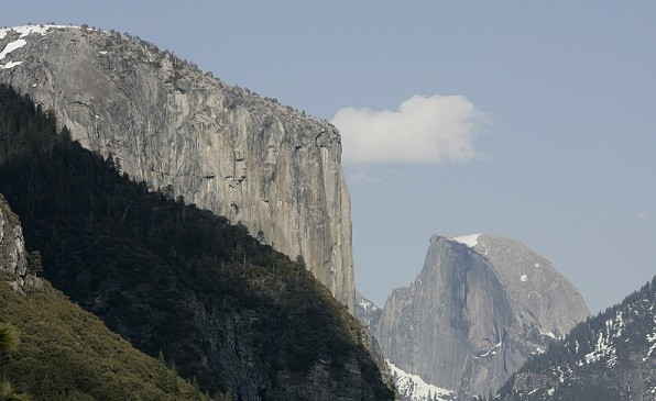 Felix Joseph Kiernan was climbing up the East Buttress of El Capitan  when he was hit by the rock (Reuters)