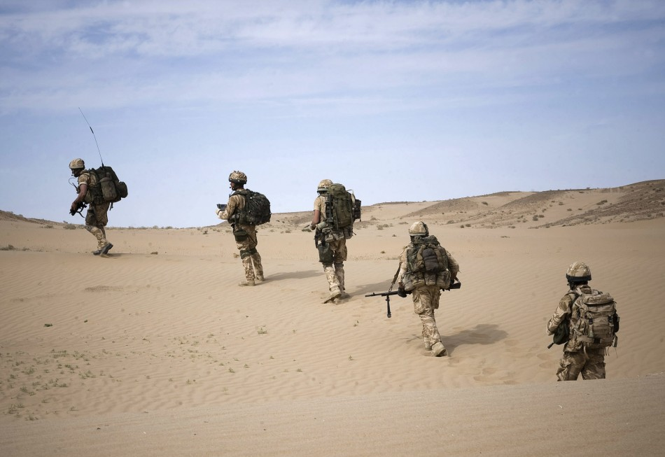 The soldiers admitted to the offences between 16 October 2011 and 6 January 2012 (Reuters)