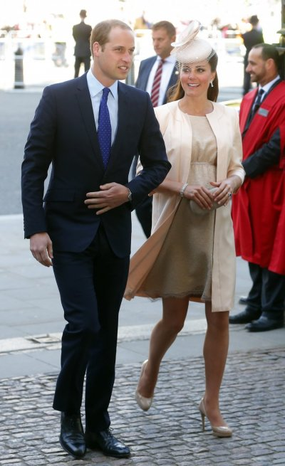 Prince William with  pregnant Catherine, Duchess of Cambridge
