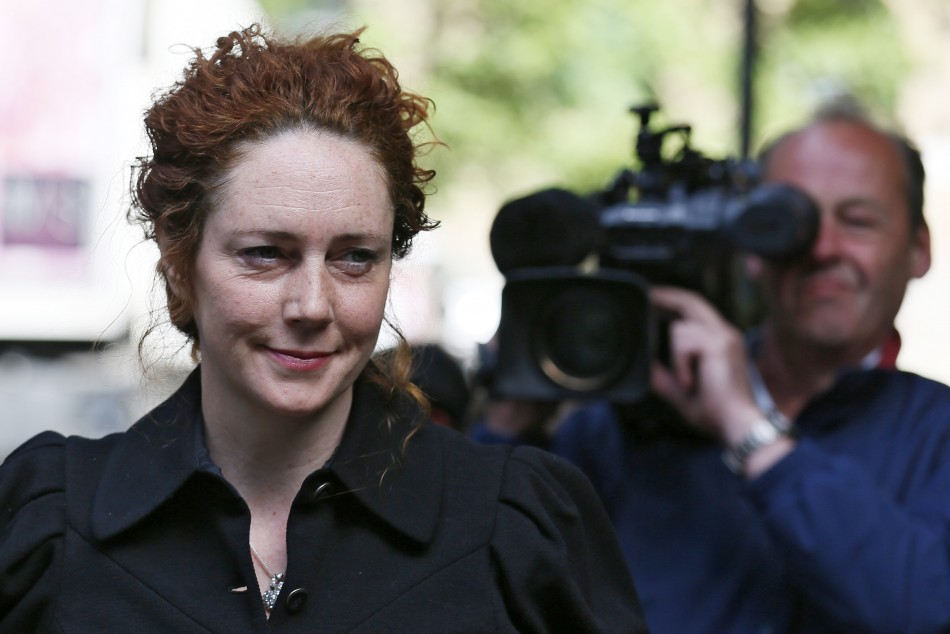 Former News International chief executive Rebekah Brooks arrives at Southwark Crown Court (Reuters)