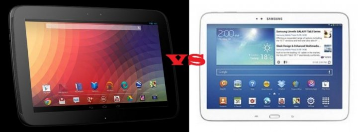 Galaxy Tab 3 10.1 Vs Nexus 10