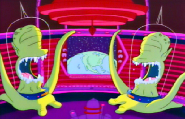 Kang and Kodos: Aliens in The Simpsons