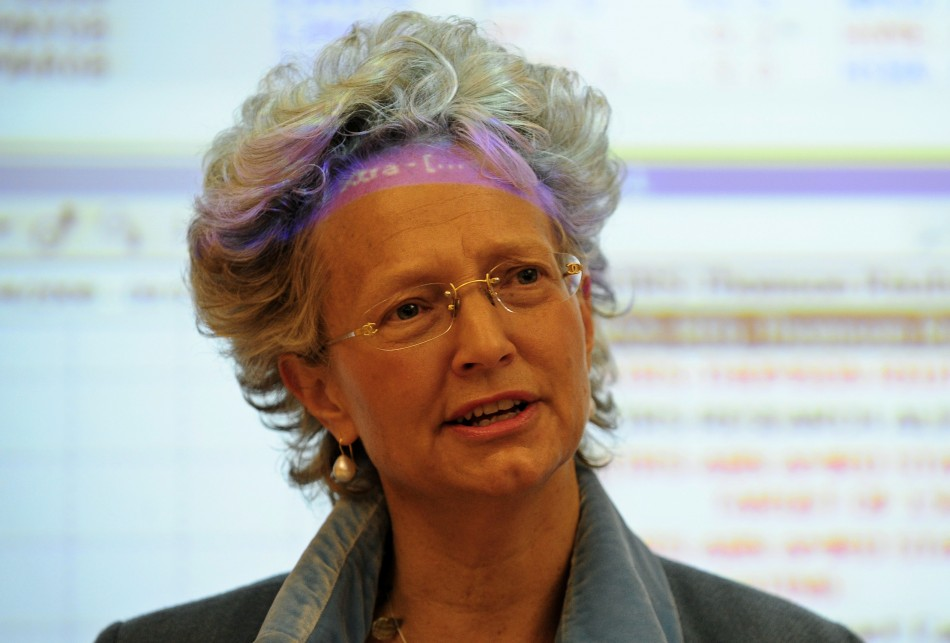 Clara Furse, former chief executive of the London Stock Exchange and former non-executive director at Fortis, at the time ABN Amro was taken over. Pictured here in 2008. (Photo: Reuters)