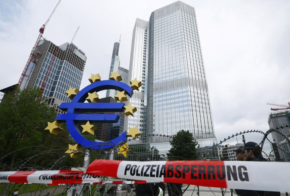 The headquarters of the ECB.