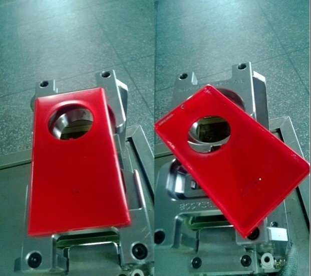 Nokia EOS rear body during production (Courtesy: wmpoweruser.com)