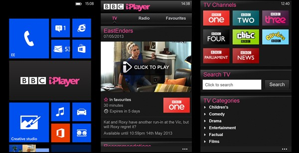 Best Windows Phone apps of the week BBC iPlayer