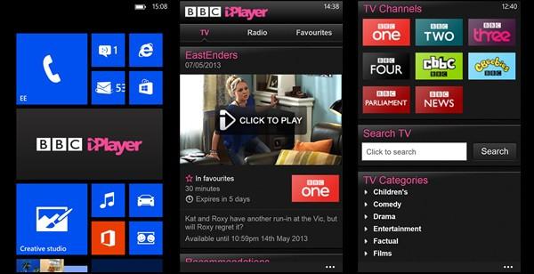 Best Windows Phone apps of the week BBC iPlayer