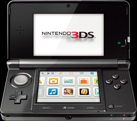Nintendo 3DS (Courtesy: nintendo.com)
