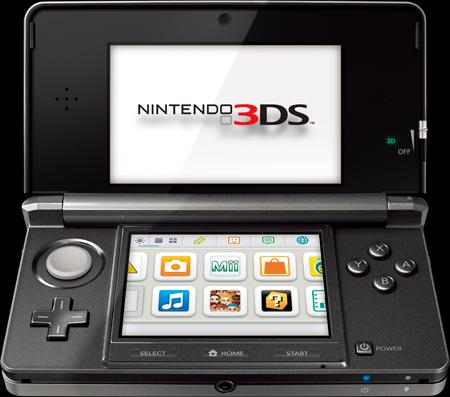 Nintendo 3DS (Courtesy: nintendo.com)