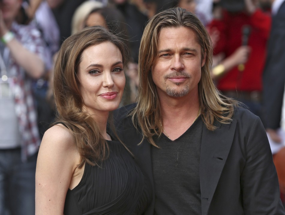 Brad Pitt Splurges on  £3000 worth Agent Provacateur Lingerie for Jolie's 38th Birthday/REUTERS