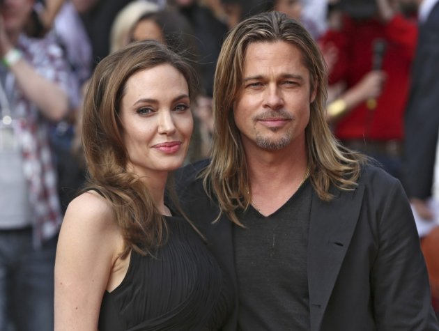 Brad Pitt Splurges on  £3000 worth Agent Provacateur Lingerie for Jolie's 38th Birthday/REUTERS