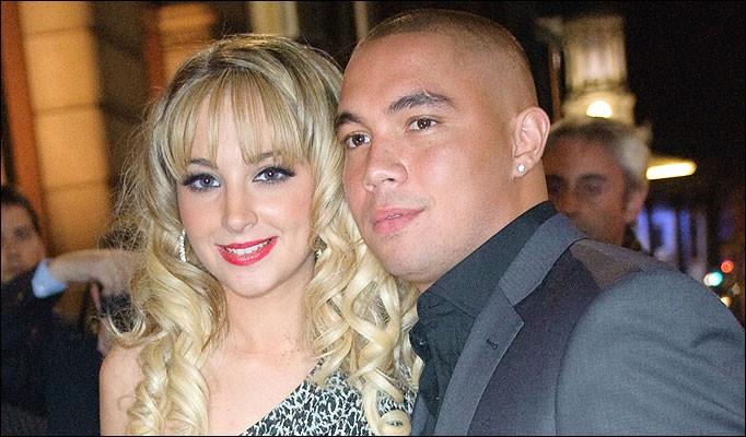 Tulisa and Justin Edwards