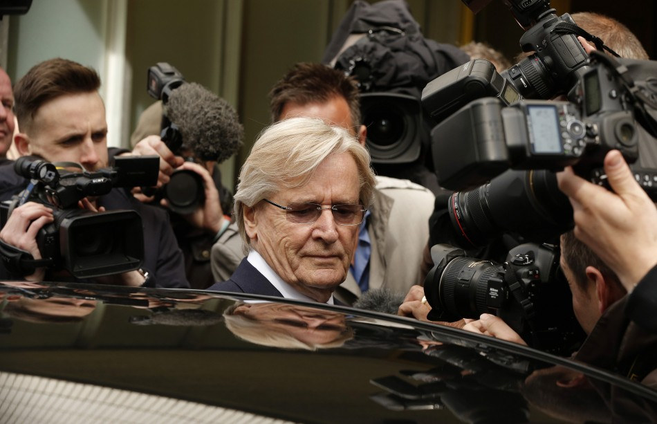 Actor Bill Roache leaves Preston Magistrates Court last month after being charged with other sex offences (Reuters)