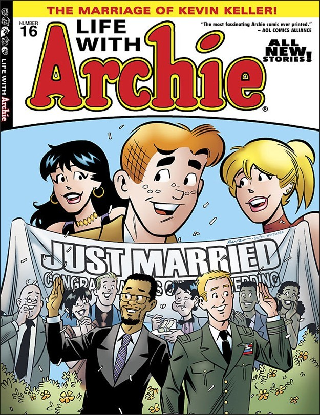 """Archie Comics announced in a Thursday press release that the controversial 16th issue of """"Life With Archie"""" had completely sold out."""