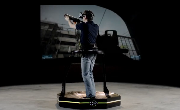 Omni Treadmill Promises To Take Virtual Reality To The